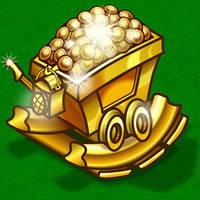 Golden Minecart by WorldsEdge