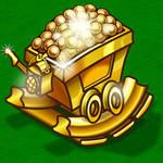 Golden Minecart