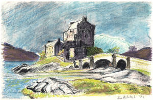 Eilean Donan Castle by WorldsEdge