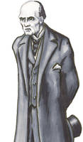Professor Moriarty (after Sidney Paget) by WorldsEdge