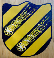 Coat of Arms with Comets by WorldsEdge