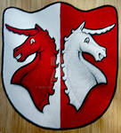 Coat of Arms with Unicorns