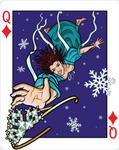 Queen of Diamonds - Falling Snow