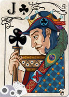 Jack of Clubs by WorldsEdge