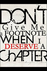 . . What I Deserve . .