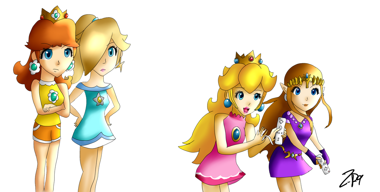 Play Wii by Zelda-Peach9 on DeviantArt