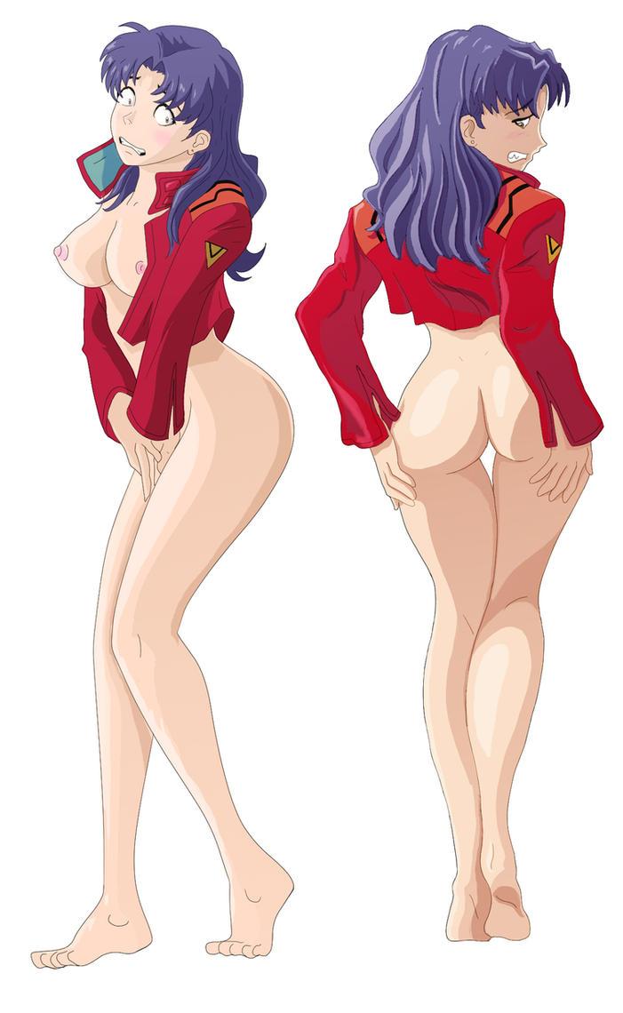 Misato Bottomless 03ab by rorschach089