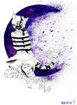 The stripes of the Cheshire Cat