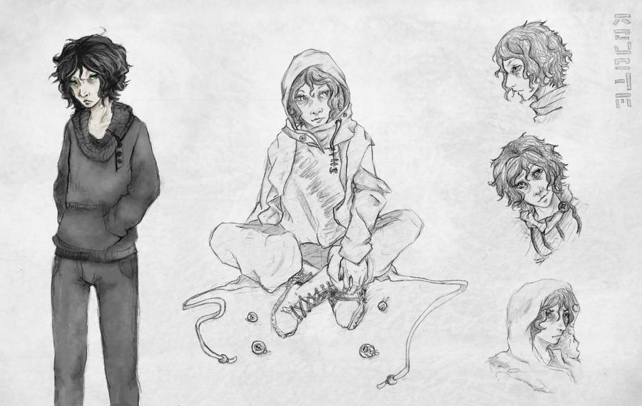 Ilja Erin Sketches by CoyoteCanine