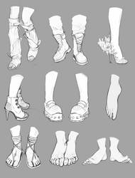 Feet and Boots References