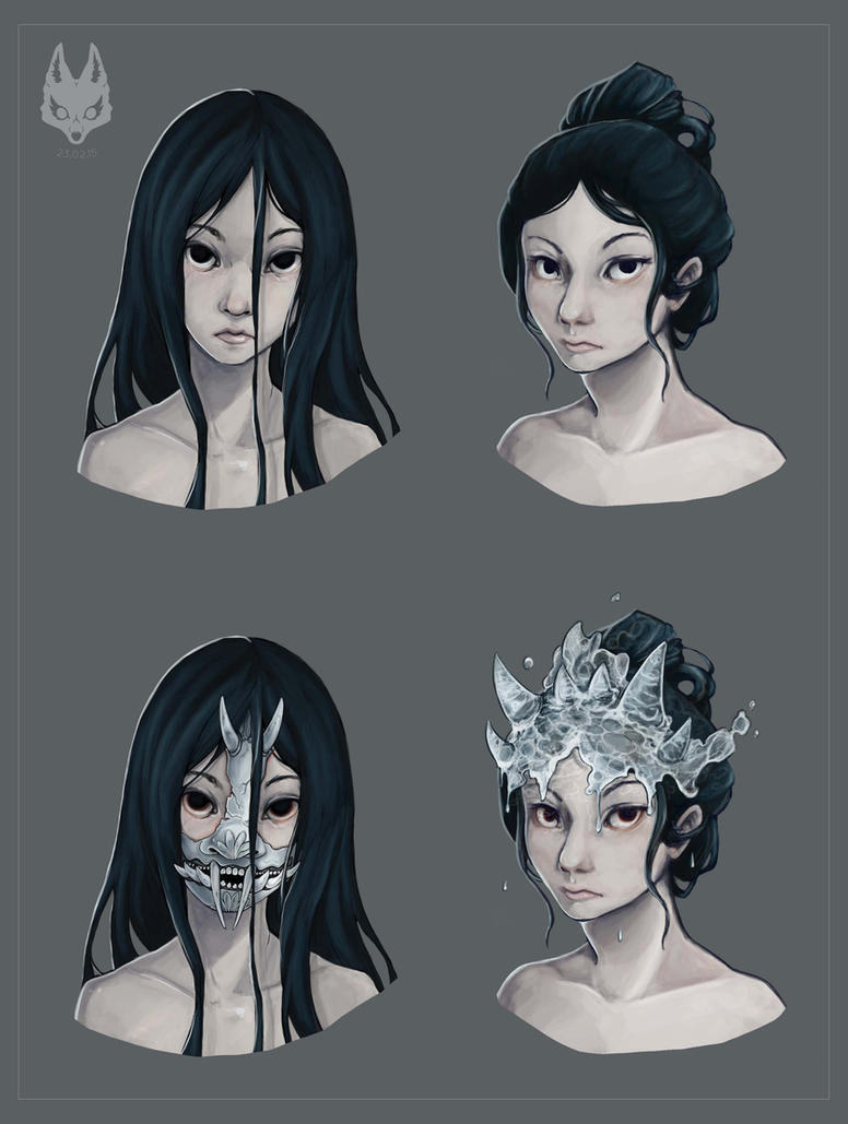 how to make an oni mask