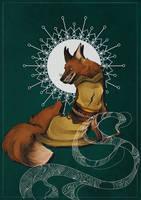 Fox Bride by NimeniCanine