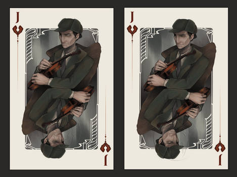 Jack of Hearts: Sherlock Holmes