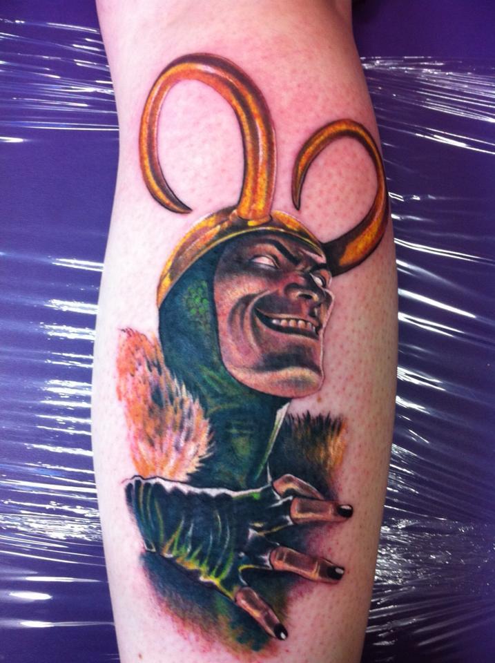 Loki Tattoo by Krimzon-1