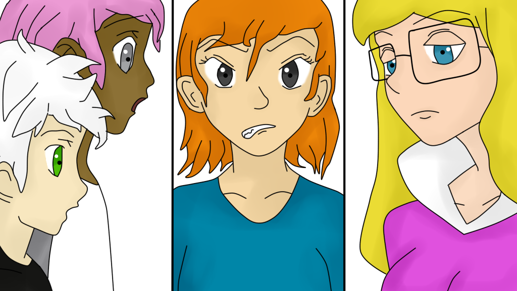 Andre, Tayeb, Irma y Jacqueline (12J 12C) by Meloewe