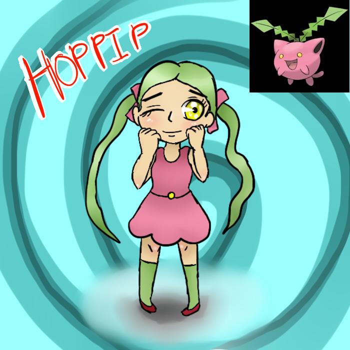 Hoppip (Gijinka) by Meloewe