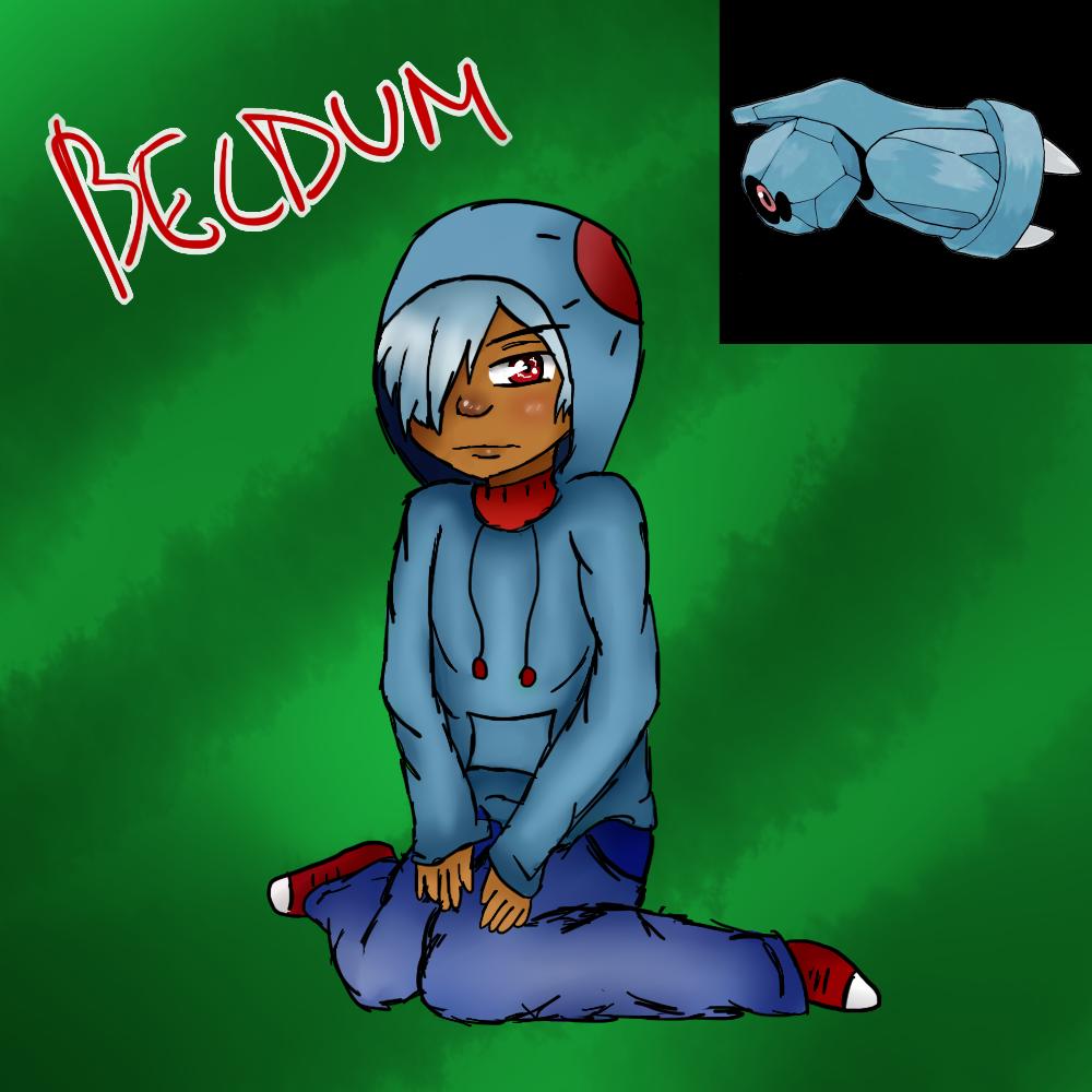 Beldum (Gijinka) by Meloewe