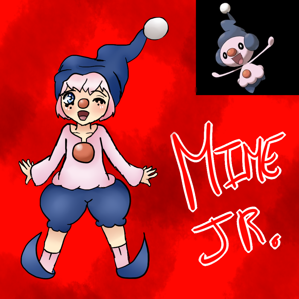 Mime Jr (Gijinka) by Meloewe