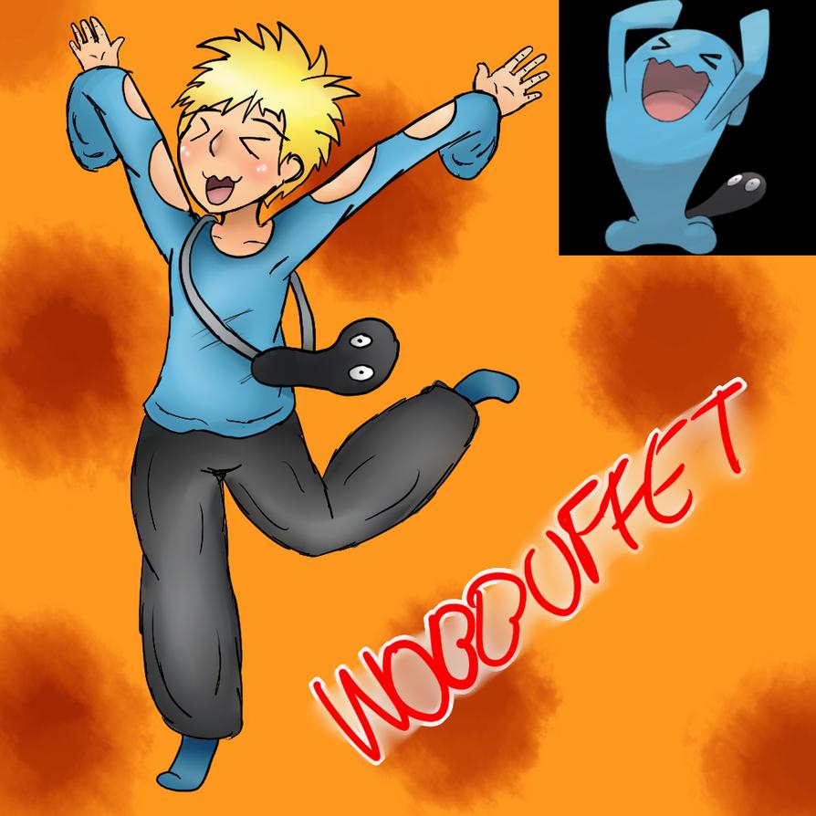 Wobbuffet (Gijinka) by Meloewe