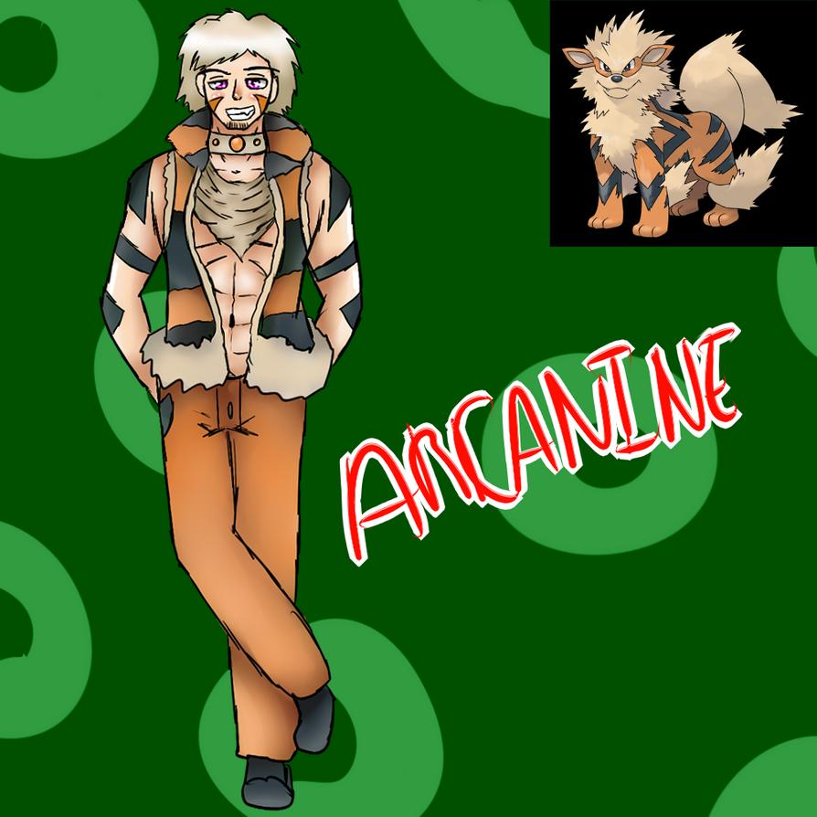Arcanine (Gijinka) by Meloewe