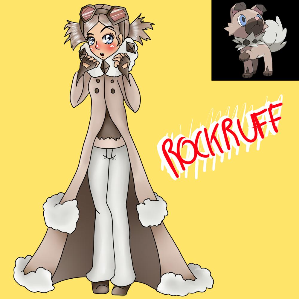 Rockruff (Gijinka) by Meloewe