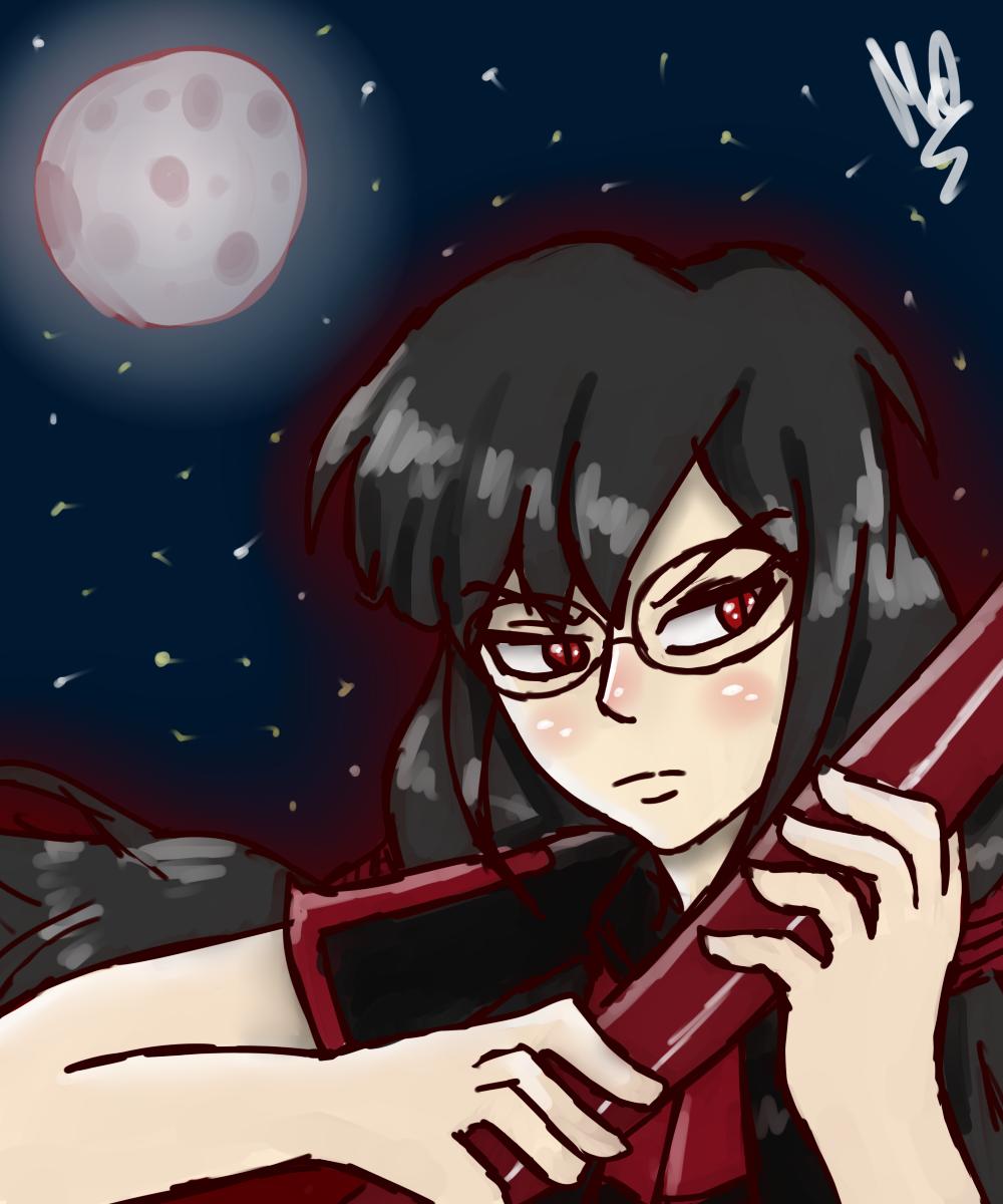 Theme 7: Nighttime. (Saya Kisaragi) by Meloewe