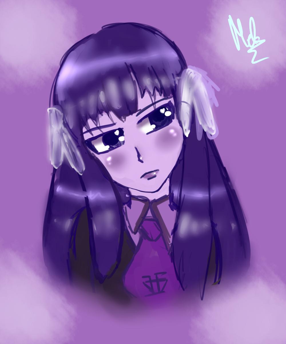 Theme 10. Purple (Shouko Kirishima) by Meloewe