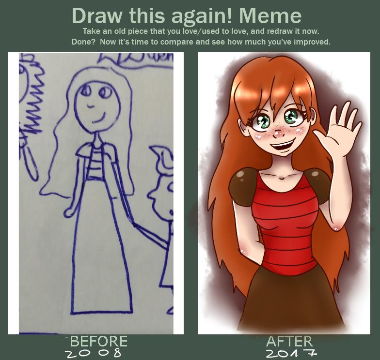 Perla - Draw This Again Meme by Meloewe