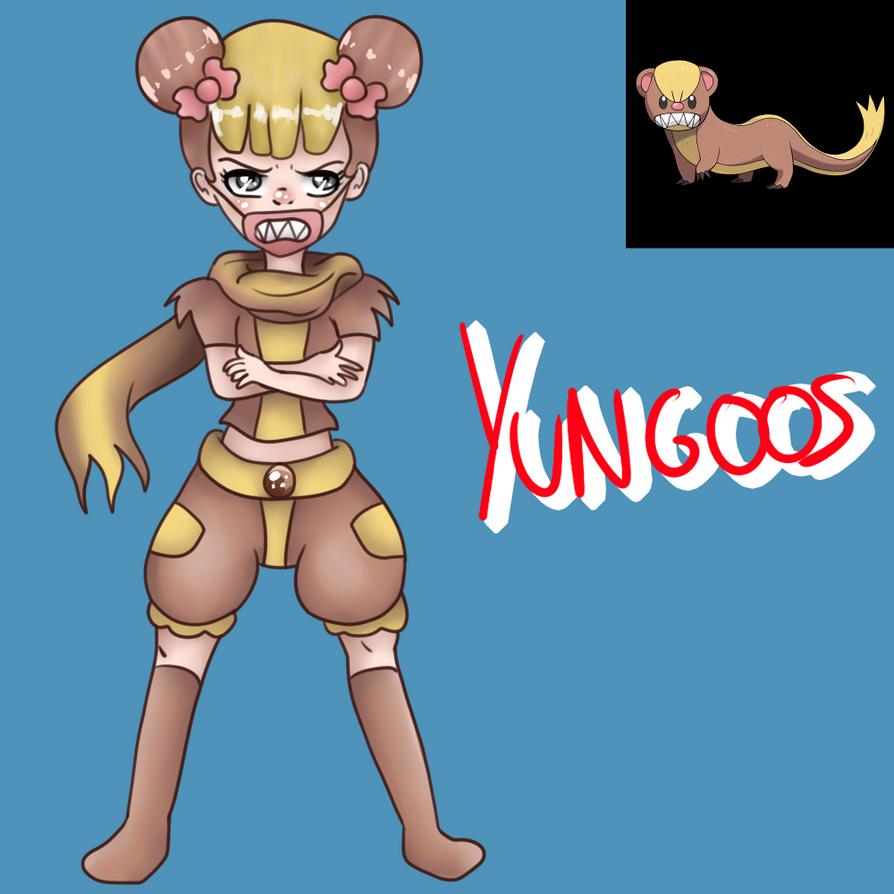 Yungoos (Gijinka) by Meloewe