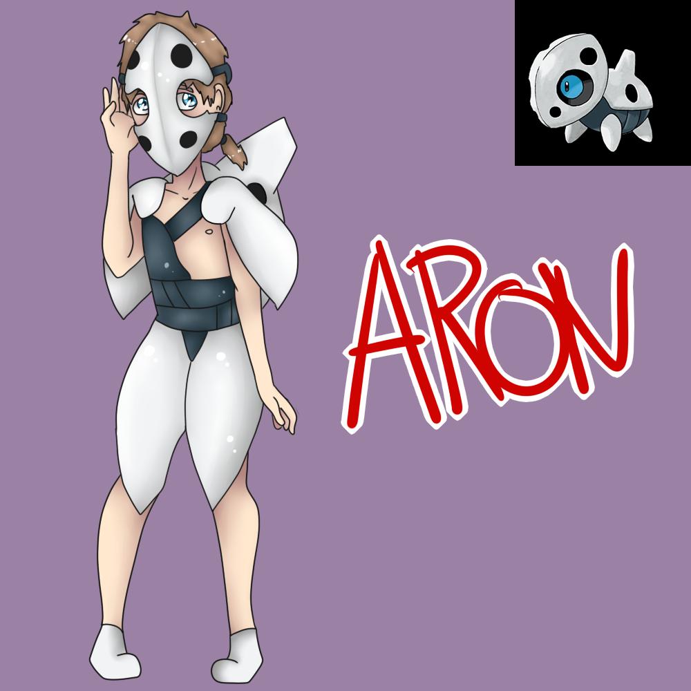 Aron (Gijinka) by Meloewe