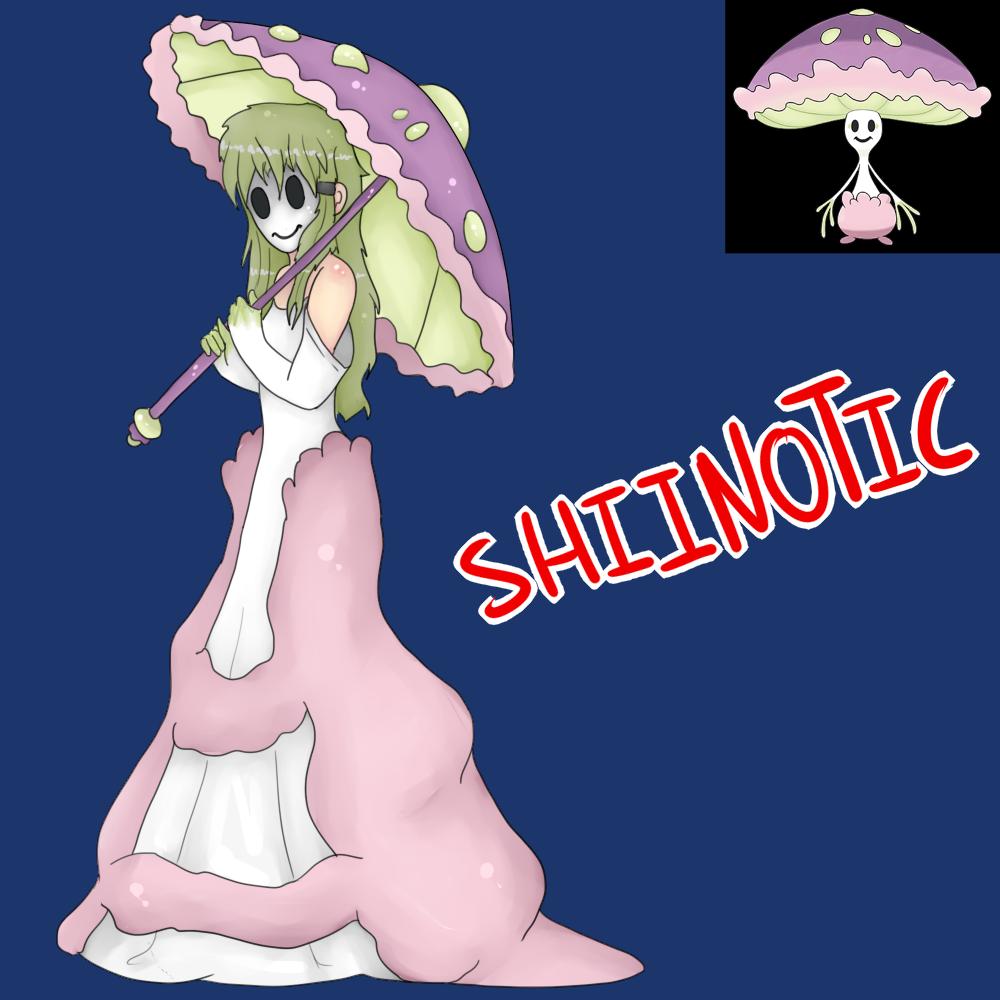 Shiinotic (Gijinka) by Meloewe