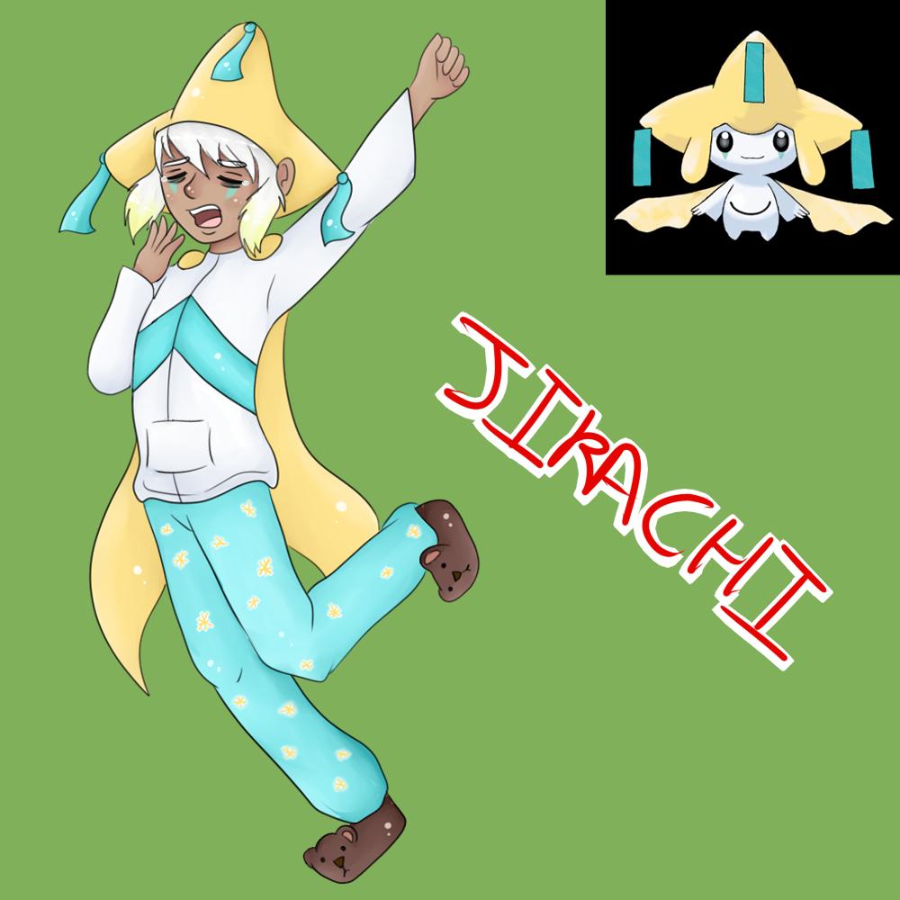Jirachi (Gijinka) by Meloewe