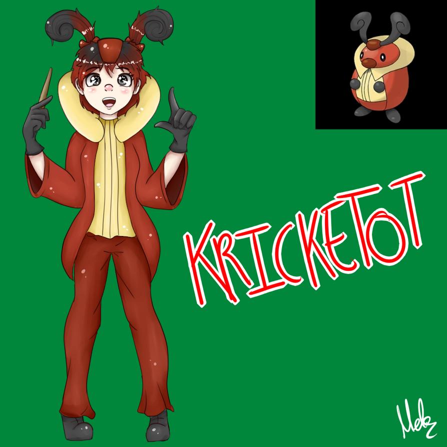 Kricketot (Gijinka) by Meloewe
