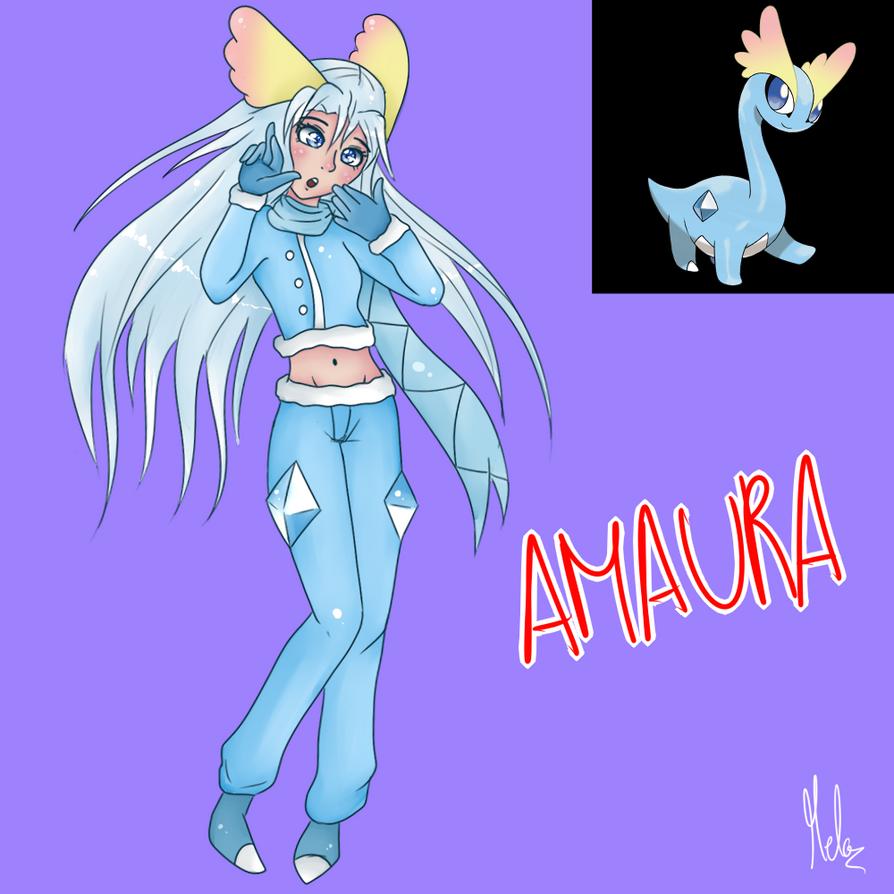 Amaura (Gijinka) by Meloewe