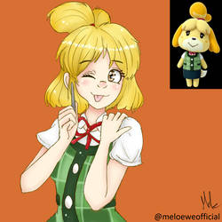 Isabelle (Gijinka)