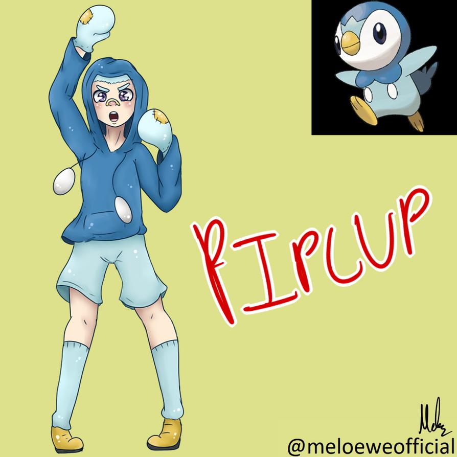 Piplup (Gijinka) by Meloewe