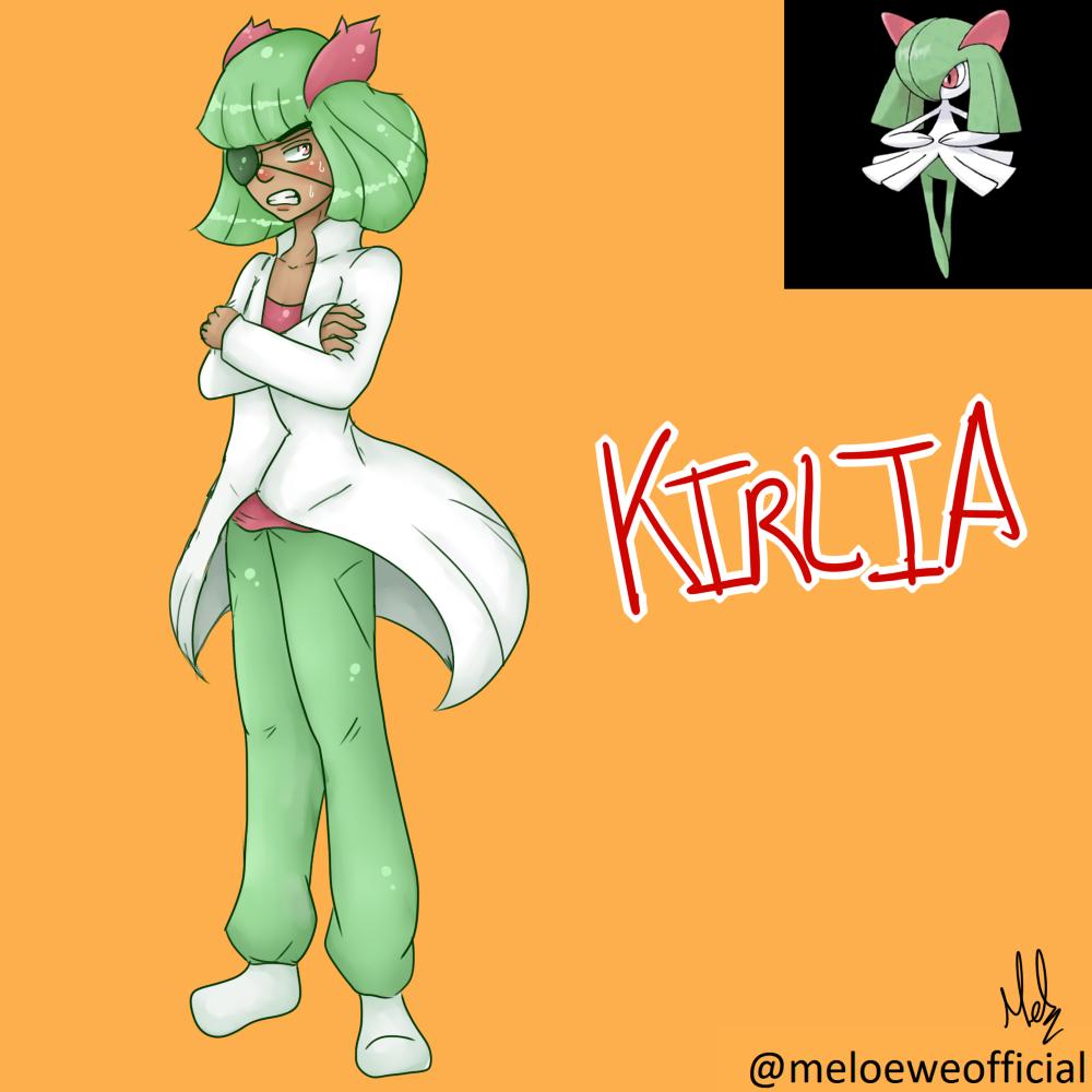 Kirlia (Gijinka) by Meloewe