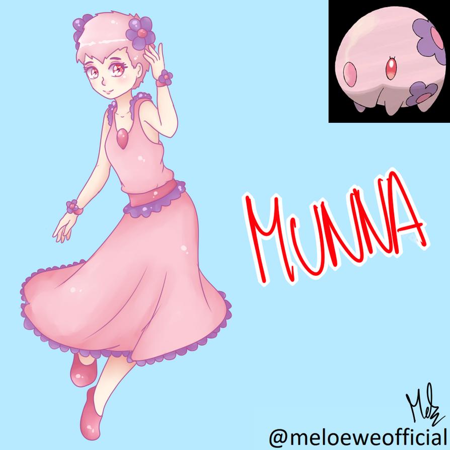 Munna (Gijinka) by Meloewe