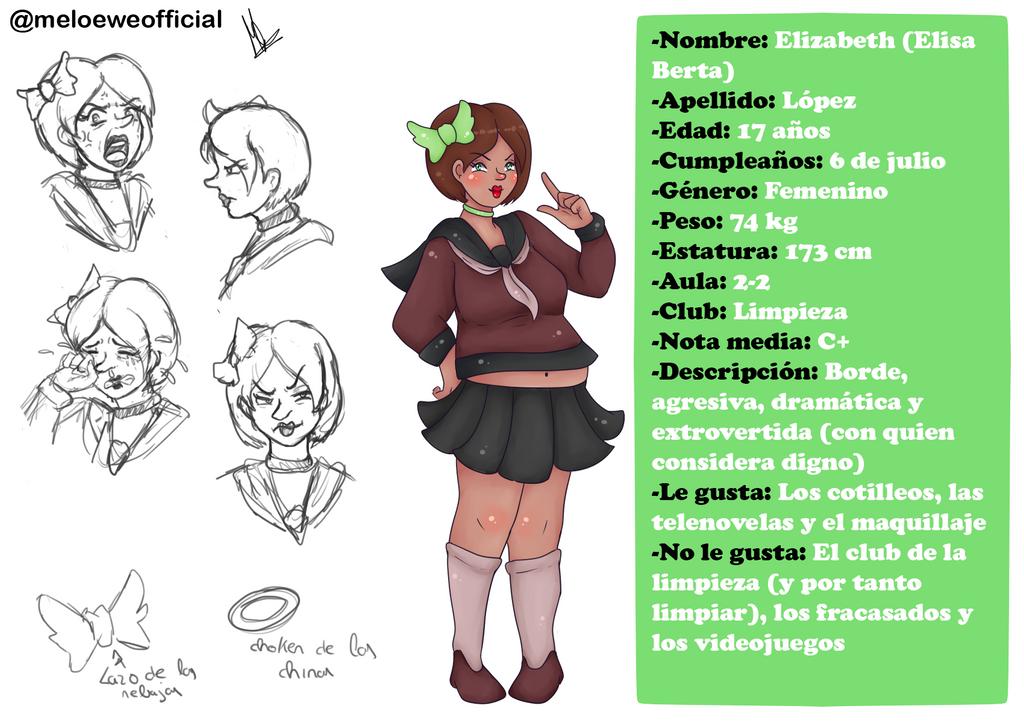Elizabeth (Elisa Berta) Lopez by Meloewe