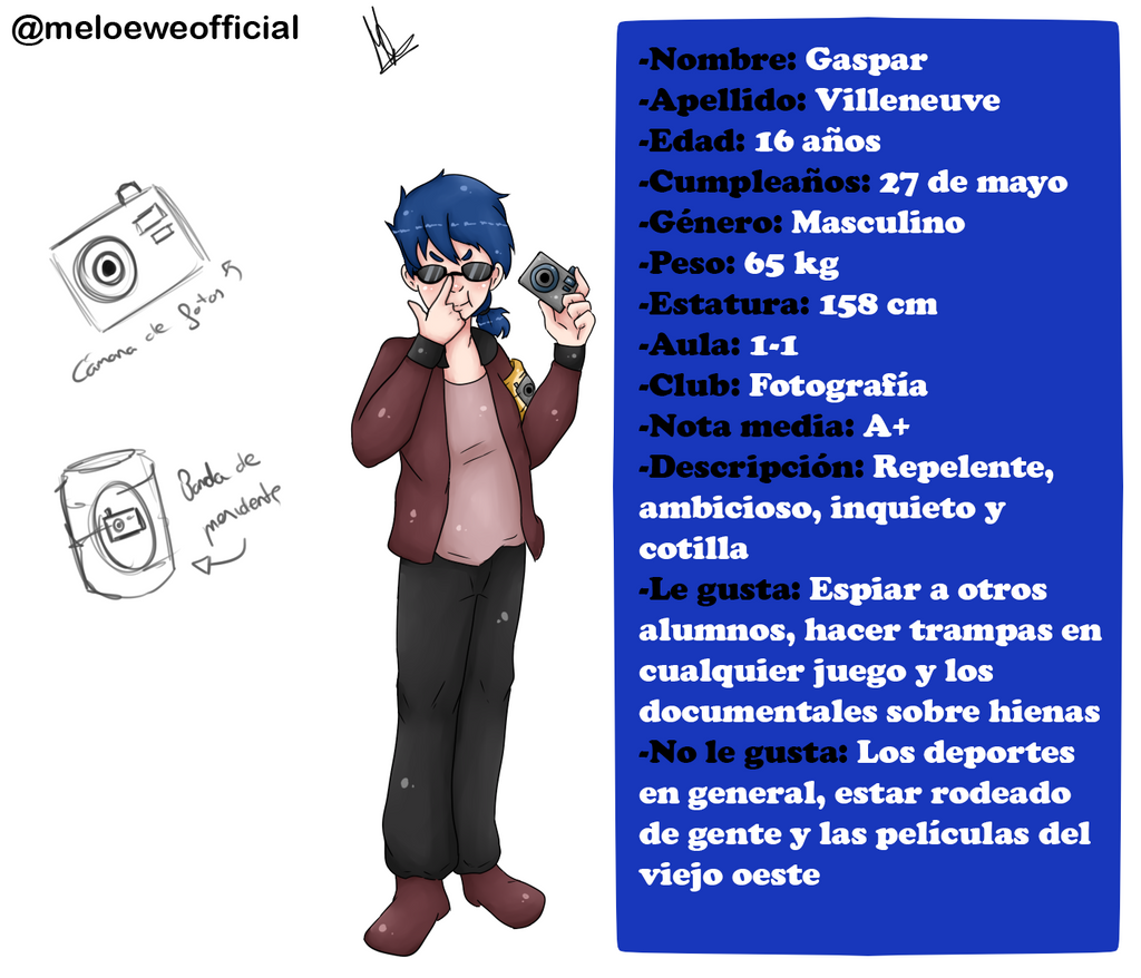 Gaspar Villeneuve by Meloewe