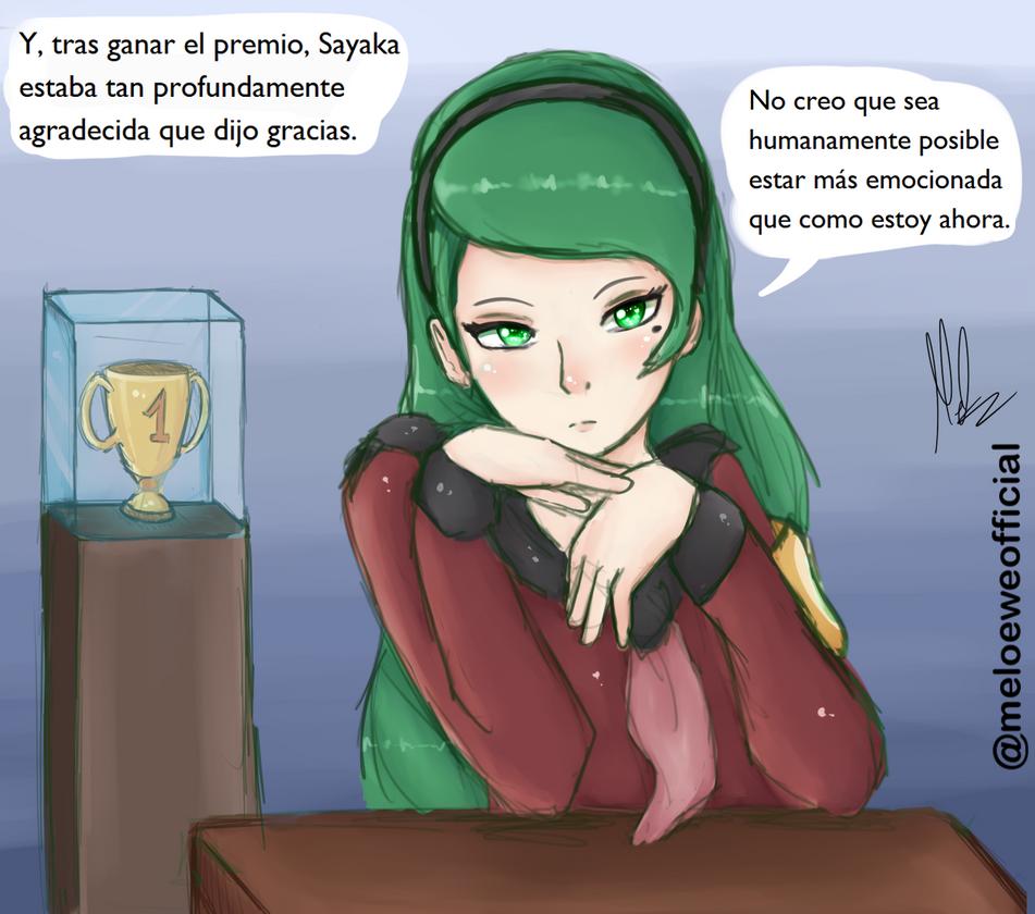 Sayaka, the fan favourite? by Meloewe