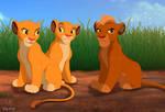 Kion and Rani cubs