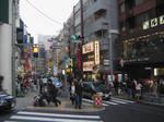 One of the street at Shibuya