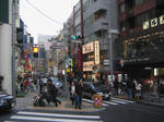 One of the street at Shibuya