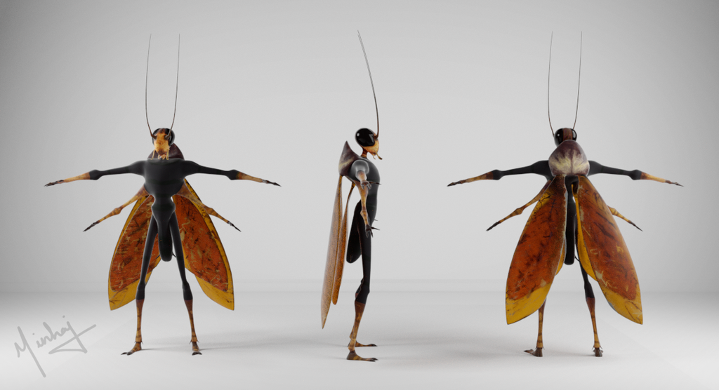 The RoachCock Turnaround by Minnaleo
