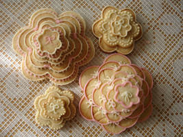4 Stacked Sugar Cookies by csquad