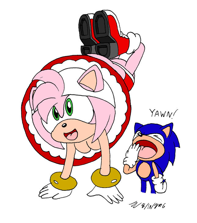 Amy's a retard by TheDJTC on DeviantArt