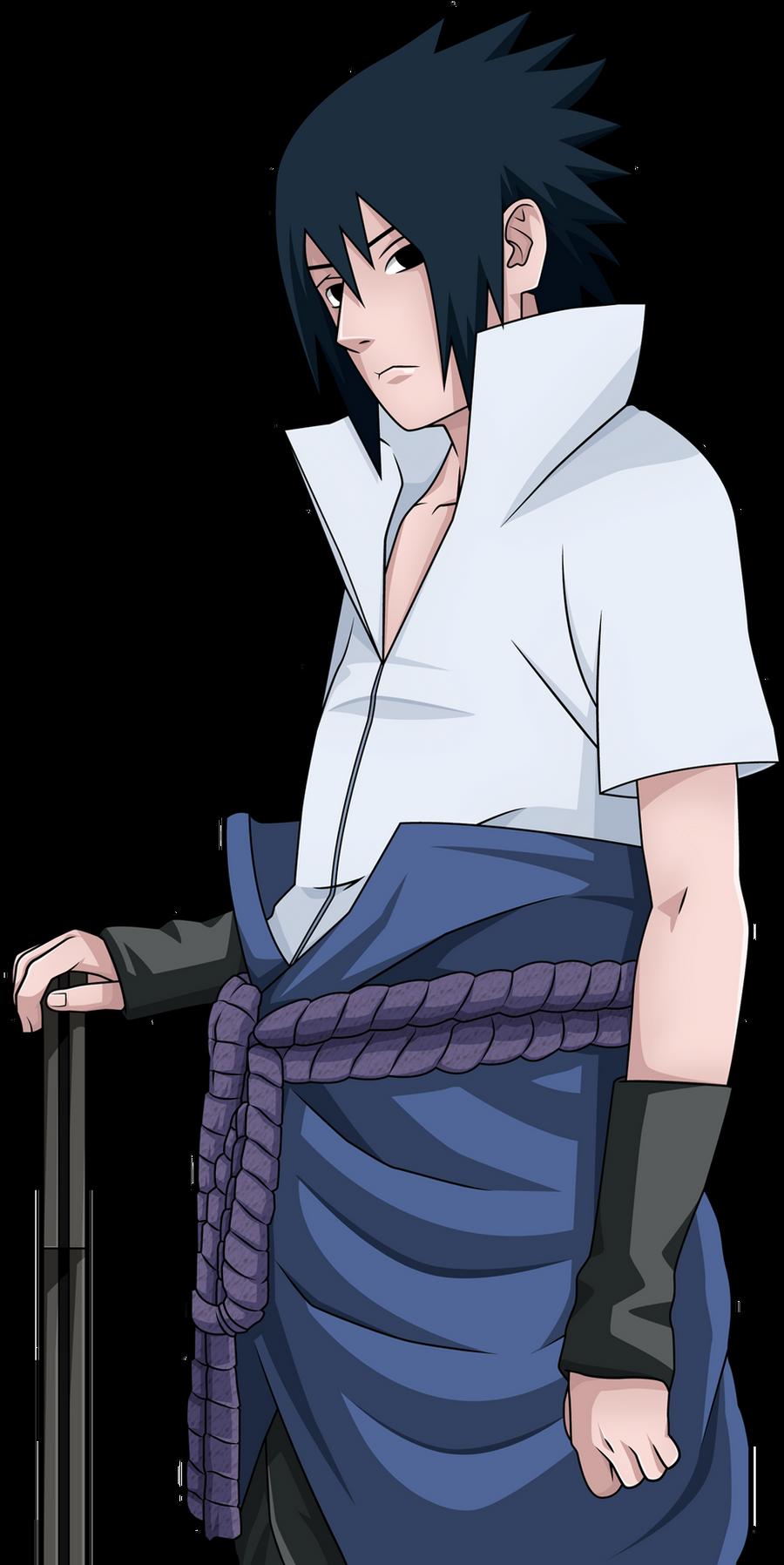 how to draw sasuke uchiha full body