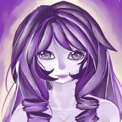 Purple Monochrome by ReiSanada
