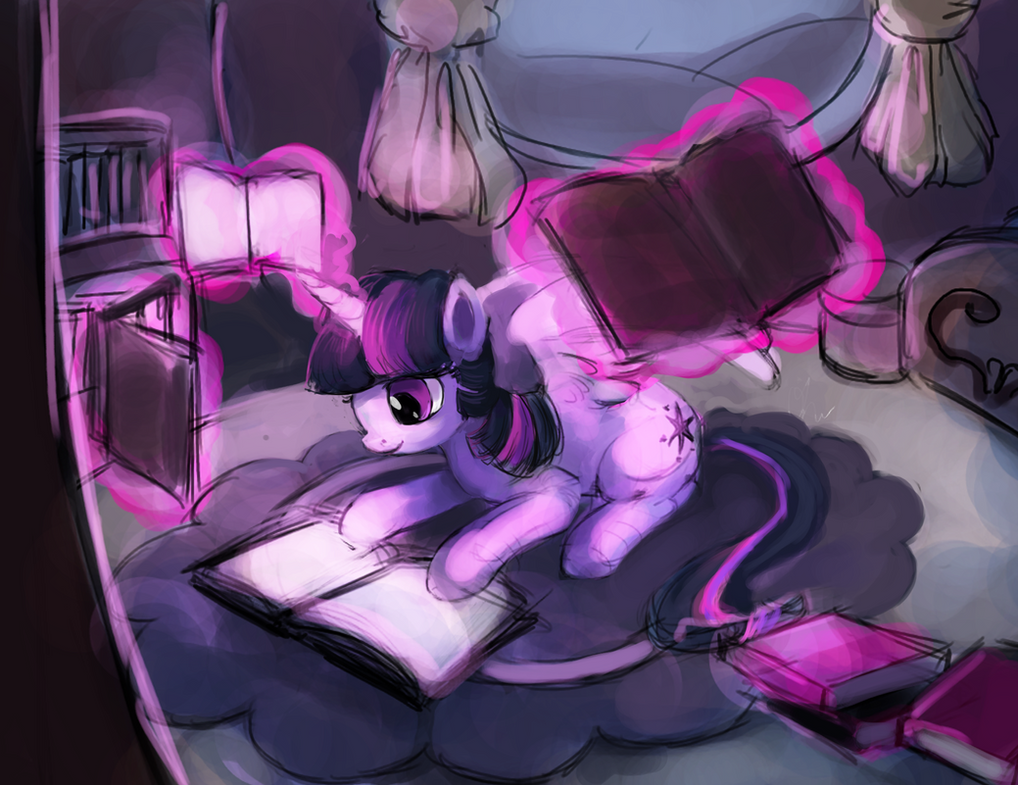 MLP: Twilight Sparkle sketch by The-Keyblade-Pony